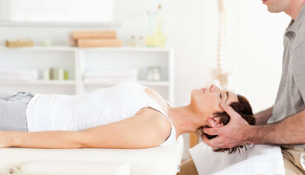 Woman at Victory Chiropractor